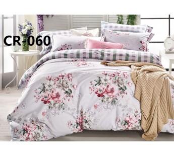 CR-060 семейный комплект постельного белья сатин люкс Retrouyt
