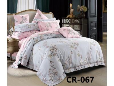 CR-067 евро Комплект постельного белья сатин люкс Retrouyt