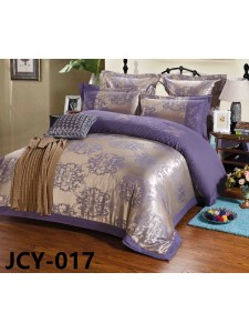 Комплект постельного белья m-17 евро сатин-жаккард с вышивкой Retrouyt