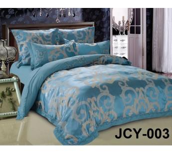 Комплект постельного белья m-3 евро сатин-жаккард с вышивкой Retrouyt