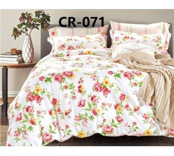 071 семейный комплект постельного белья сатин люкс Retrouyt