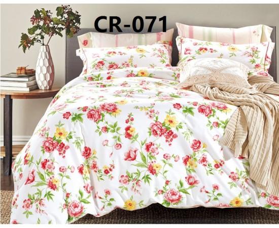 CR-071 семейный комплект постельного белья сатин люкс Retrouyt