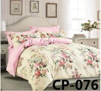 CP-076 комплект постельного белья евро сатин Retrouyt