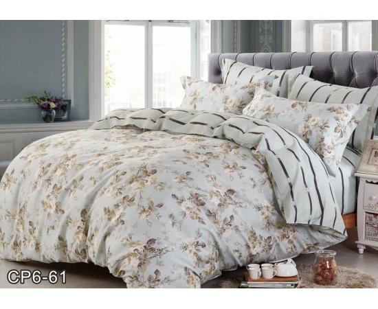 Комплект постельного белья CP-061 евро сатин Retrouyt