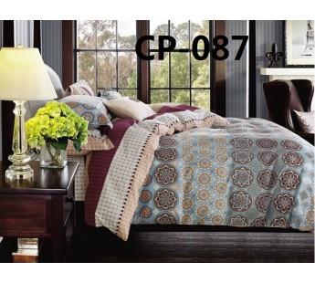 CP-087 комплект постельного белья евро сатин Retrouyt