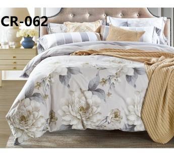 CR-062 семейный комплект постельного белья сатин люкс Retrouyt