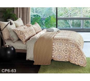 CP-063 комплект постельного белья евро сатин Retrouyt