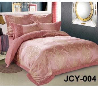 Комплект постельного белья m-4 евро сатин-жаккард с вышивкой Retrouyt
