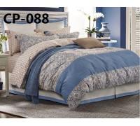 CP-088 евро комплект постельного белья  сатин Retrouyt