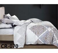 070 Комплект постельного белья евро сатин люкс Retrouyt