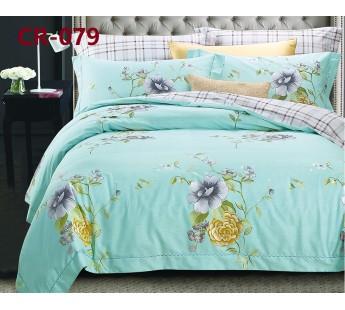079 комплект постельного белья евро сатин люкс Retrouyt