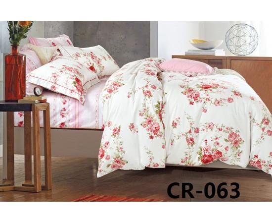 CR-063 семейный комплект постельного белья сатин люкс Retrouyt