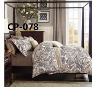 CP-078 комплект постельного белья евро сатин Retrouyt