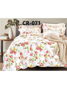 CR-071 евро Комплект постельного белья сатин люкс Retrouyt