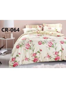 064 семейный комплект постельного белья сатин люкс Retrouyt