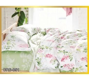 051  Комплект постельного белья евро сатин люкс Retrouyt