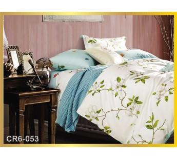 053  Комплект постельного белья евро сатин люкс Retrouyt
