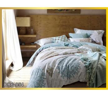 054  Комплект постельного белья евро сатин люкс Retrouyt