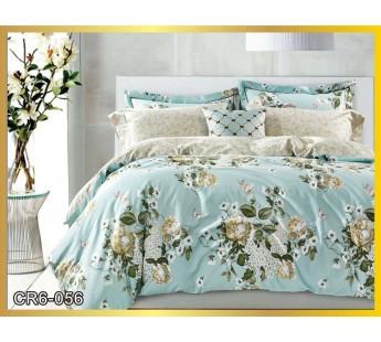 056  Комплект постельного белья евро сатин люкс Retrouyt
