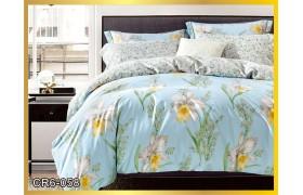 058  Комплект постельного белья евро сатин люкс Retrouyt