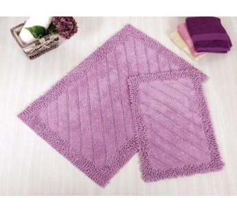 DOLY Mor (фиолетовый) Коврик для ванной 70x110 IRYA Хлопок