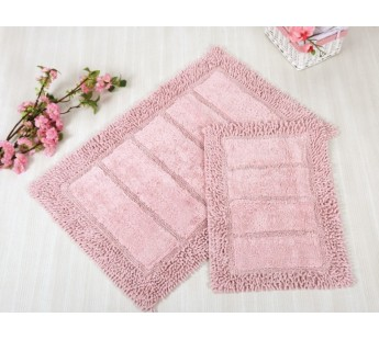 VESTA Pembe (розовый) Коврик для ванной 70x110 IRYA Хлопок