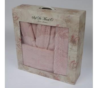 LINDA (роз) L-XL Комп.из халата и полотенец