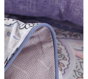 Постельное белье сатин люкс семейный AMMELY V5