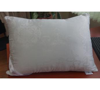 Подушка с наполнителем шелк 50х70