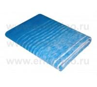 Синее ( Мегаполис ) Байковое жаккард 215х150 100% х/б арт. 5772ВЖК Ермолино одеяло
