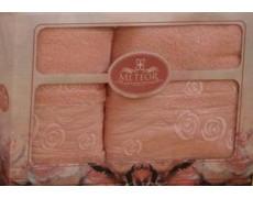 8501 Персик ROSE GARDEN (50х90+70х140 ) в коробке METEOR
