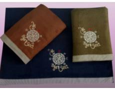 Компас 45х90 (12шт)полотенце N14-241