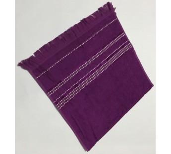 Фиолетовый Econik 70х130 бамбук махра полотенце (1шт) Фиеста