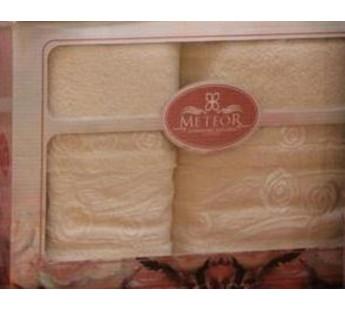 8501 Кремовый ROSE GARDEN (50х90+70х140 ) в коробке METEOR