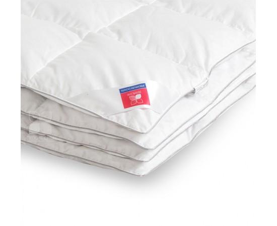 Одеяло пуховое кассетное Лоретта 172х205 легкое Легкие Сны