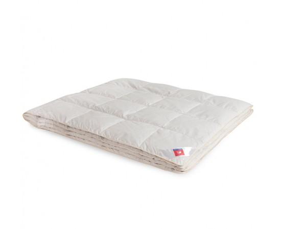 Одеяло пуховое кассетное Афродита 172х205 легкое Легкие Сны