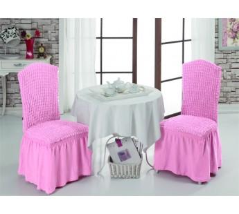 Чехлы на стулья 1/2 Светло-розовый