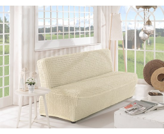 Чехол для дивана KARNA двухместный без подлокотников , без юбки