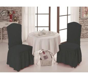 Чехлы на стулья 1/2 Темно-Серый