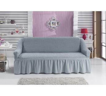 "Чехол для дивана ""BULSAN"" трехместный Серый"