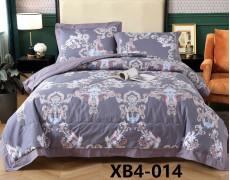 xb6-14 Комплект постельного белья евро с ОДЕЯЛОМ Retrouyt