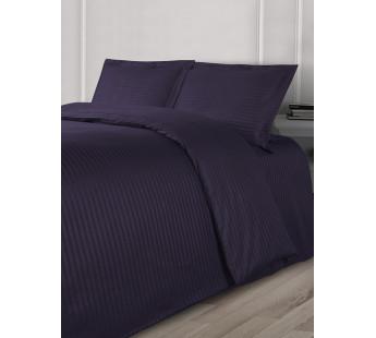 Постельное белье Eвро LINE сатин фиолет