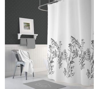 Штора для ванной DROP 180Х200 v21