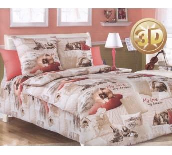 КПБ детский 1,5 спальный ДБ-45 Полутороспальное Вальтери Бязь