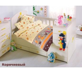 """Постельное белье """"Altinbasak"""" для новорожденных VAK VAK Коричневый"""