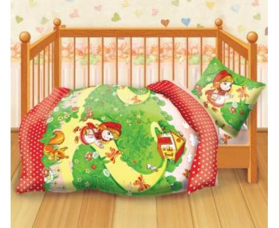 Красная шапочка Кошки-мышки КПБ детский бязь КДКм-1 рис.8501 266508