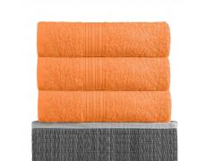 Оранжевая 180х210 Простыня Махровая BAYRAMALY