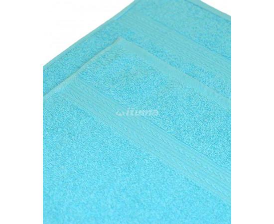 Светло-голубая 150х210 Простыня Махровая ITUMA
