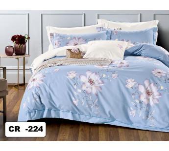 MALLI CR-224 Комплект постельного белья евро сатин люкс Retrouyt