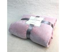 PLD-розовый  150х200  плед бамбуковый Retrouyt